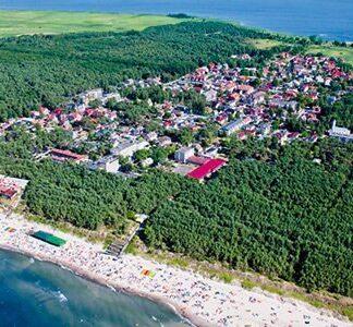 Domki letniskowe w Dziwnowie nad morzem